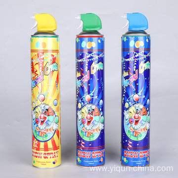 christmas white foam snow aerosol spray